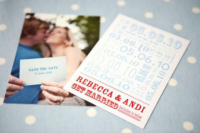 Wedding Save The Date Postcards: Trendy Tuesday: Save-the-Date Cards
